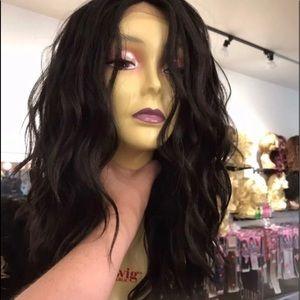 Accessories - Wig Deep Wave 16-18 lacefront wavy wig